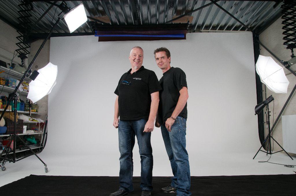 Wim en Nils van Oest