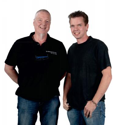 Nils en Wim van Oest