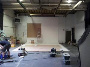 Renovatie van een fotostudio