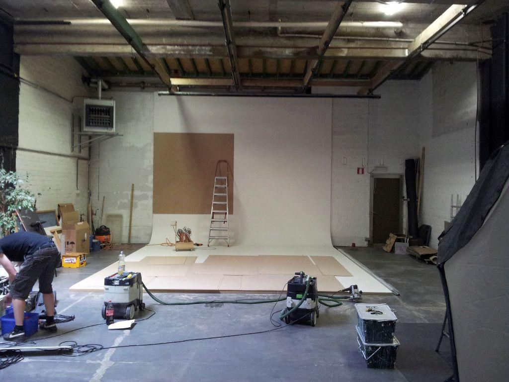 Renovatie van een studiowand